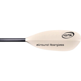 nortik Allround Fiberglass - Remo - 220cm 2-tlg. blanco/negro